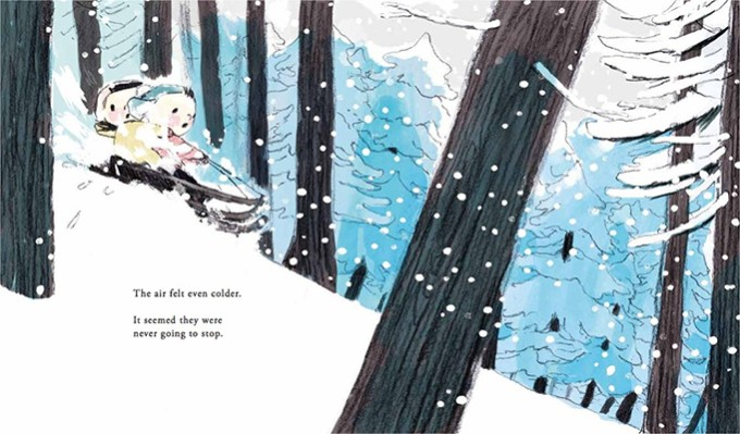 The Snowbear, Words & Pictures 2017
